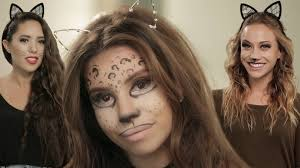 halloween cat makeup 3 halloween cat makeup looks youtube
