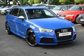 audi rs3 blue rs3 price madness audi sport