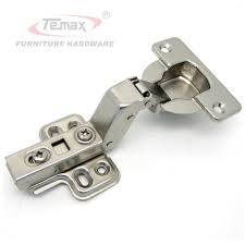 Kitchen Cabinets Hardware Hinges 2pcs 40mm Cup Soft Insert Hydraulic Satin Nickel Kitchen