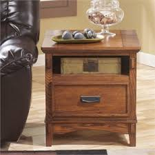 charging station end tables