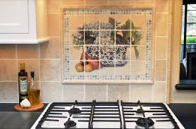 backsplash mural awesome the kramerus wanted a modern touch