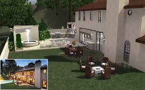 Kris Jenner Backyard Mod The Sims Kim Kardashian U0027s Mansion