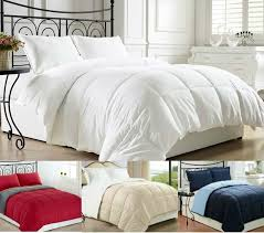 Home Classics Reversible Down Alternative Comforter Goose Down Alternative Luxurious Reversible Comforter Full Queen