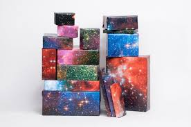galaxy wrapping paper galaxy space themed wrapping paper