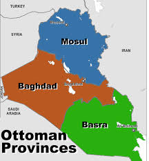 Provinces Of The Ottoman Empire Ottoman Iraq Ottoman Empire 20th Century
