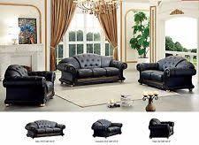 Genuine Leather Sofa Sets Classic Cleopatra Traditional Leather Sofa Set Modern Design Ebay