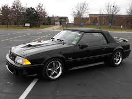 Black Mustang Gt Convertible For Sale 1992 Ford Mustang Gt Convertible 37 500 100147649 Custom