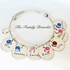 family bracelets sted expandable family bracelets s day