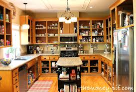 Kitchen Cabinets Without Doors Free Clip Art - Kitchen cabinet without doors