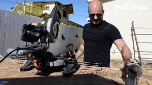 evolution rage3 mitre saw miter saw how to make a weight