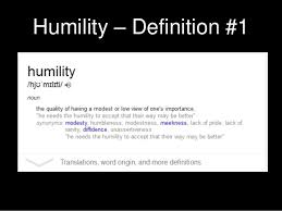 Definition Of Vanity Humility And The Limitations Of Success