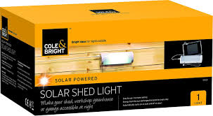 bright light solar cole bright 18120 solar shed light co uk garden outdoors