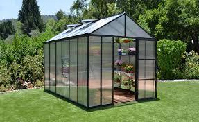 Palram Gazebo Palram Glory 8 Ft W X 12 Ft D Greenhouse U0026 Reviews Wayfair