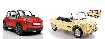 citroen mehari electric e mehari citroen s full electric cabriolet type vehicle