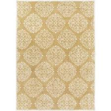 Gold Area Rugs Chapman Medallion Gold Area Rug