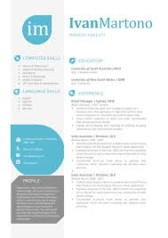 Apple Pages Resume Templates Free The Ivan Resume Creative Resume Template