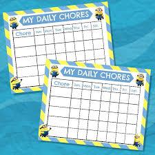 3 top chore chart templates templates vip