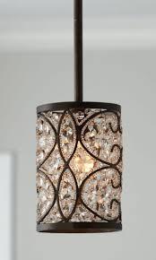 kitchen ceiling light fixtures mini pendant lights brushed nickel