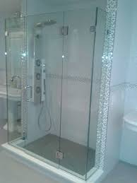 Unique Shower Doors by Frameless Shower Doors Euro Cost Combine Simple Seat And Modern