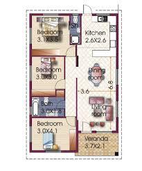 3 bedroom bungalow floor plan 3 bedroom house design in philippines