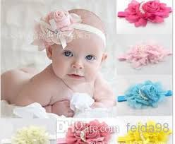 big flower headbands wholesale beautiful big flower headband hairband peal baby