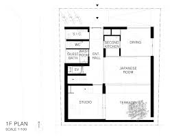 Floor Plan Of A Salon Concrete House By Apollo Architects Accommodates Exchange Students