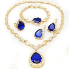 gold plated necklace wholesale images Wholesale bridal necklace gold plated jewelry set imitation jpg