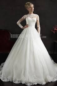 robe de mariã e manche longue dentelle robe de mariée tulle manches longue dentelle apliques