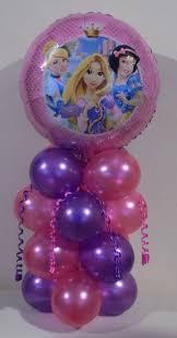 Table Decorations Centerpieces 2 Disney Princesses Diy Balloon Table Decoration Centerpiece