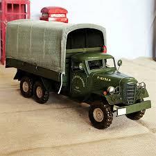 metal craft ornaments transport truck model antique iron