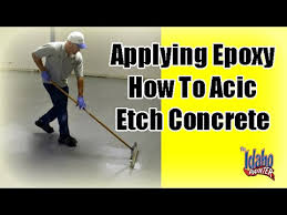 epoxy application tips how to apply garage floor epoxy with color