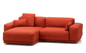 Red Leather 2 Seater Sofa Place 2 Seat Sofa With Chaise Hivemodern Com