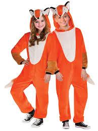 kids mr fox zipster costume boy animal world book week book