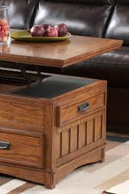 console tables mission sofa table with drawers couch target