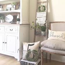 that chair i love all the pretty farmhouse decor in this shot by
