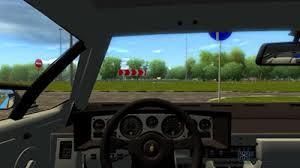 city car driving lamborghini lamborghini countach 1 2 5 simulator mods