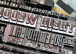 letterpress printing the printing process letterpress printing with antique type