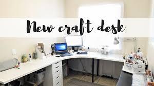 New Ikea New Ikea Craft Room Desk 2017 Youtube
