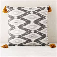 oversized throw pillows cozy living room design with chic