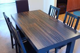 laminate top dining table laminate dining table re think your table top design fiin info