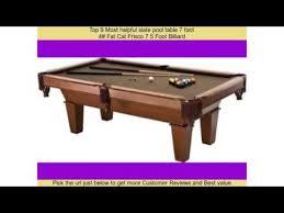 best 9 foot pool table top 9 most helpful slate pool table 7 foot youtube