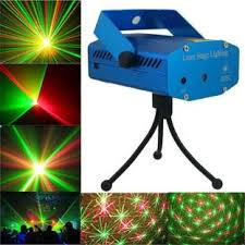 Laser Light Decoration Homes Decor Disco Party Mini Laser Light Projector Night Lamp