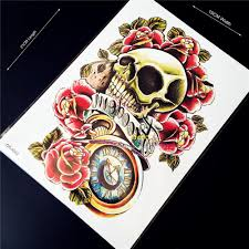 skull arm sleeve compare prices on skull sleeve tattoo online shopping buy low