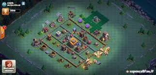 coc map layout th6 8 best bh6 layout for clash of clans builder base supercell italia fan