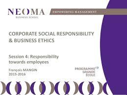 Le Violet Lui Donne Du Caractère De L Csr Responsibility Towards Employees