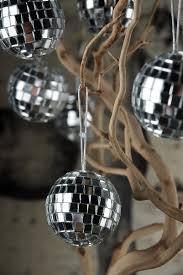 mirror ball ornaments 2in 6 balls 4 99