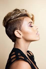 alexandra joner hair pinterest short hair shaved sides and