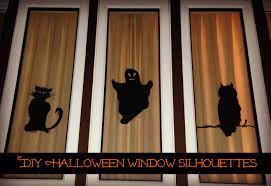 diy halloween window silhouettes the naughty mommy