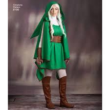 Simplicity Halloween Costumes 8199 Misses U0027 Gaming Warrior Costumes