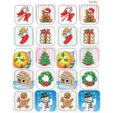 christmas stickers christmas stickers tcr1256 created resources